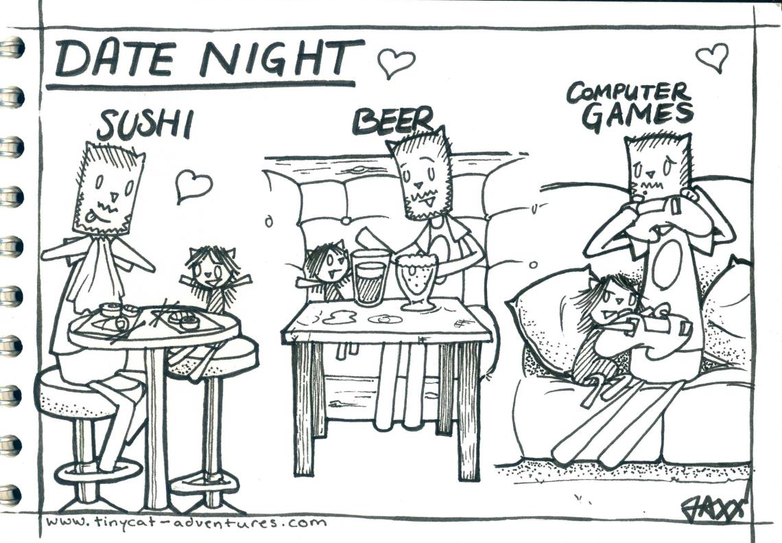 Tinycat Date Night